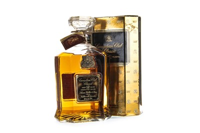 Lot 412-CANADIAN CLUB AGED 12 YEARS