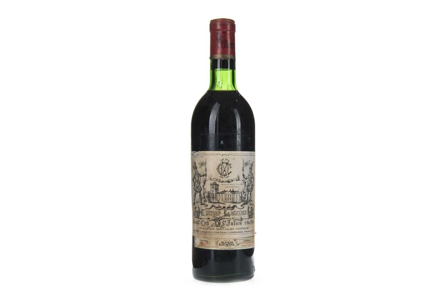 Lot 1005-CHATEAU LAGRANGE 1969