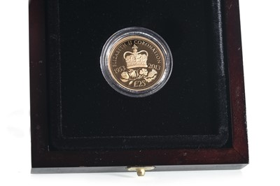 Lot 7-A CORONATION JUBILEE JERSEY £25 GOLD COIN