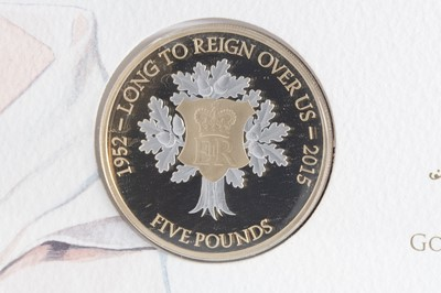 Lot 9-A WESTMINSTER 'LONG TO REIGN OVER US' LIMITED EDITION GOLD COIN