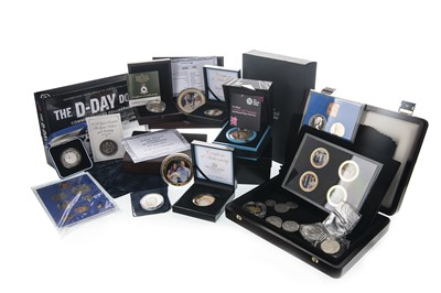 Lot 18-A COLLECTION OF SILVER AND COMMEMORATIVE COINS