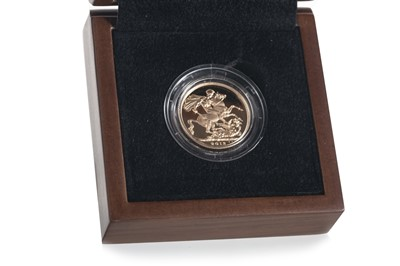 Lot 22-A GOLD SOVEREIGN DATED 2013