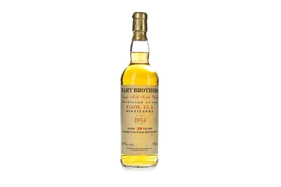 Lot 16-CAOL ILA 1974 HART BROTHER'S AGED 20 YEARS