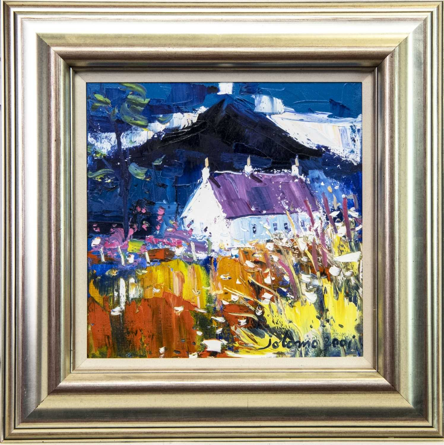 Lot 562 - CROFT AND BEN BUIE, MULL, AN OIL BY JOLOMO