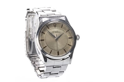 Lot 860-A GENTLEMAN'S ROLEX OYSTER PERPETUAL STAINLESS STEEL WRIST WATCH