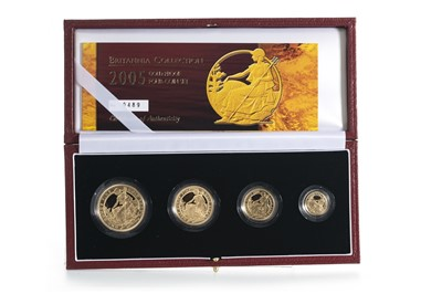 Lot 38 - 2005 GOLD PROOF BRITANNIA COLLECTION FOUR COIN SET