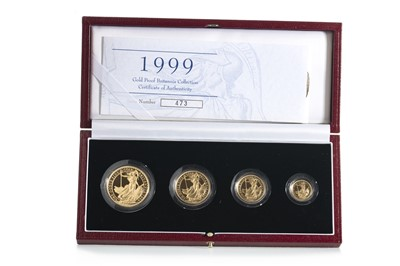 Lot 29 - 1999 GOLD PROOF BRITANNIA COLLECTION FOUR COIN SET