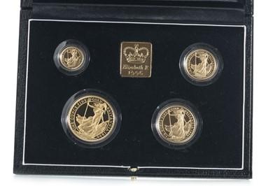 Lot 35 - 1996 GOLD PROOF BRITANNIA FOUR COIN SET