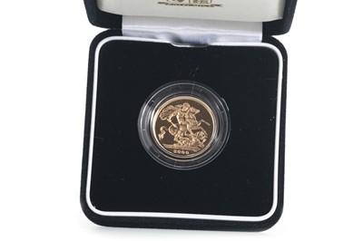 Lot 28 - 2000 GOLD PROOF MILLENNIUM SOVEREIGN