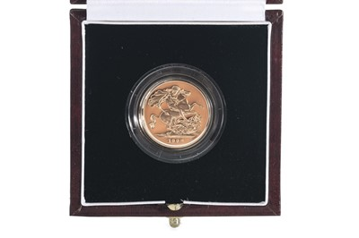 Lot 61 - 1998 GOLD PROOF SOVEREIGN