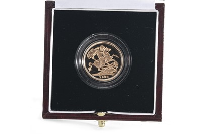 Lot 54 - 1998 GOLD PROOF SOVEREIGN