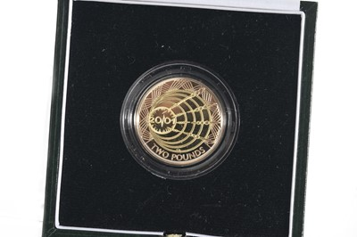 Lot 44 - 2001 GOLD PROOF MARCONI £2 COIN