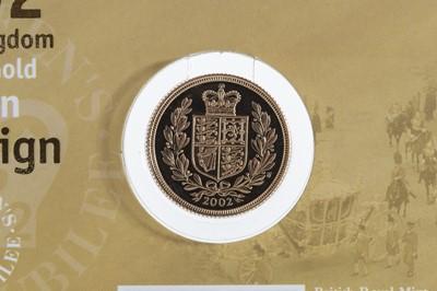 Lot 63 - 2002 GOLD BULLION SOVEREIGN