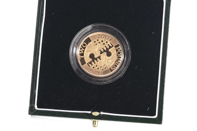 Lot 49 - 2007 GOLD PROOF ACT OF UNION ANNIVERSARY £2 COIN