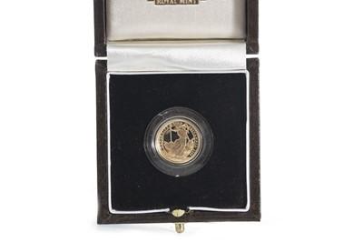 Lot 41 - 2000 GOLD PROOF BRITANNIA £10 COIN