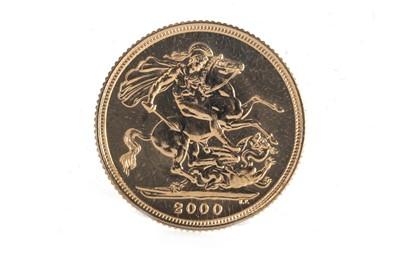 Lot 59 - 2000 GOLD BULLION ST GEORGE & THE DRAGON SOVEREIGN