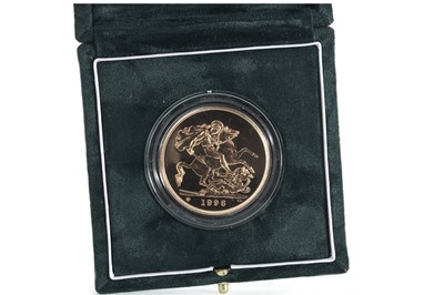 Lot 36 - 1996 GOLD £5 COIN