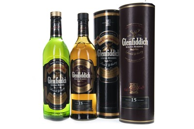 Lot 321-GLENFIDDICH 15 YEARS OLD AND GLENFIDDICH SPECIAL RESERVE