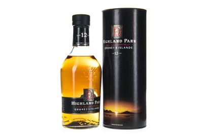Lot 18-HIGHLAND PARK AGED 12 YEARS