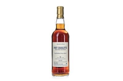 Lot 26-PORT CHARLOTTE PRIVATE CASK AGED 15 YEARS