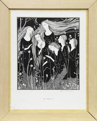 Lot 540-GARDEN, A LITHOGRAPH BY HANNAH FRANK