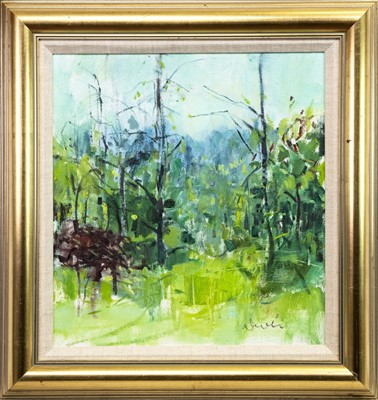 Lot 510-EARLY SUMMER IN PROVENCE, AN OIL BY GEORGE DEVLIN