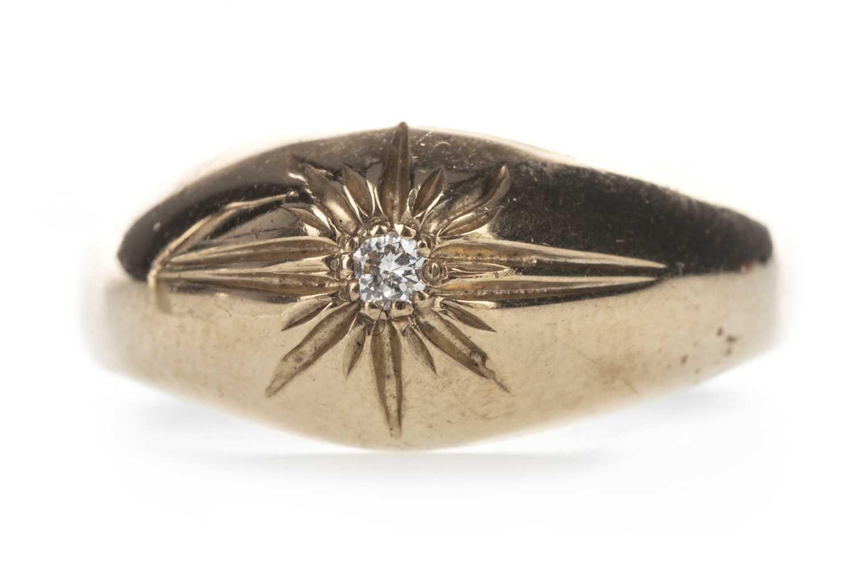 Lot 317-A DIAMOND SET RING