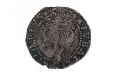 Lot 74 - IRELAND - JAMES I (1603 - 1604) SIXPENCE