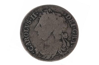 Lot 81 - SCOTLAND - CHARLES II (1649 - 1685) QUARTER DOLLAR OR MERK DATED 1677
