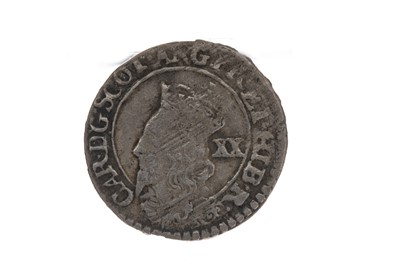 Lot 82 - SCOTLAND - CHARLES I (1625 - 1649) TWENTY PENCE