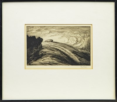 Lot 426-CHANCTONBURY RING, AN ETCHING BY BERTRAM BUCHANAN