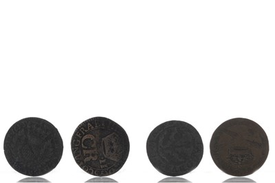 Lot 102 - SCOTLAND - COLLECTION OF BODLE OR TURNER COINAGE
