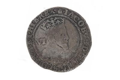 Lot 104 - SCOTLAND - JAMES THE VI AND I (1567 - 1625) SIXPENCE DATED 1603
