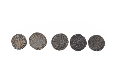 Lot 105-A COLLECTION OF EDWARD III (1307 - 1377) PENNIES
