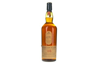 Lot 28-LAGAVULIN AGED 16 YEARS WHITE HORSE DISTILLERS - ONE LITRE