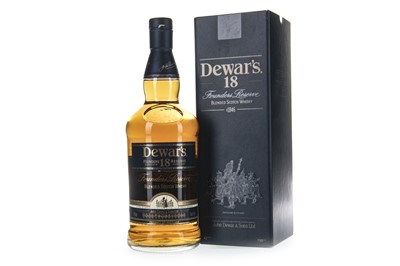 Lot 417-DEWAR'S 18 YEARS OLD