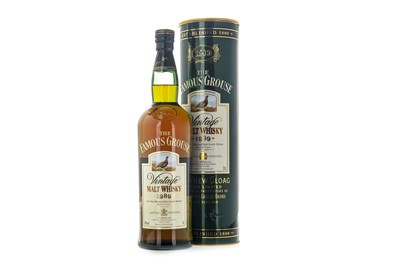 Lot 323-THE FAMOUS GROUSE 1989 AGED 12 YEARS