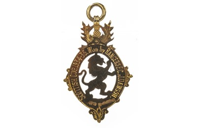 Lot 1722 - JERRY DAWSON OF RANGERS F.C. - HIS SCOTTISH CUP WINNERS MEDAL 1934/35