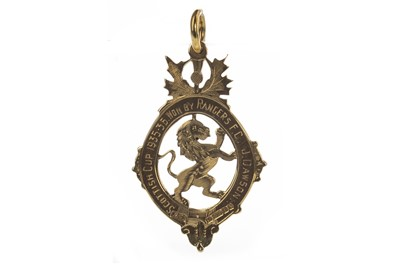 Lot 1723 - JERRY DAWSON OF RANGERS F.C. - HIS SCOTTISH CUP WINNERS MEDAL 1935/36