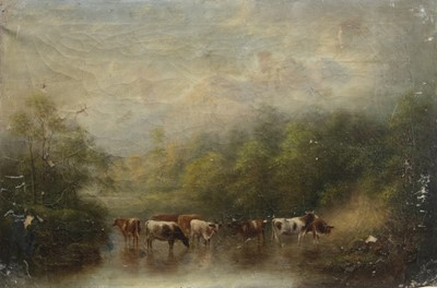 Lot 140-A PAIR OF SCOTTISH HIGHLAND SCENES