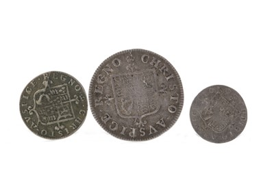 Lot 130 - SCOTLAND - CHARLES II (1660 - 1685) PENNY, TWOPENCE AND FOURPENCE