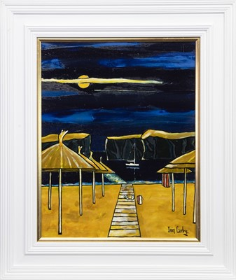 Lot 608-MIDNIGHT SWIM, AN OIL BY IAIN CARBY