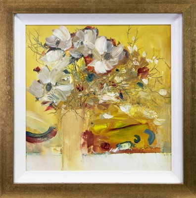 Lot 523-A PLAYFUL ARRANGEMENT, A MIXED MEDIA BY DOUGLAS DAVIES