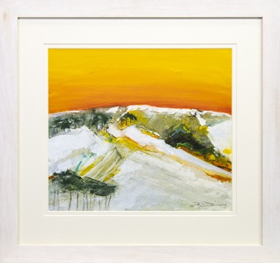 Lot 531-MELTING SNOWS, A MIXED MEDIA BY DOUGLAS DAVIES