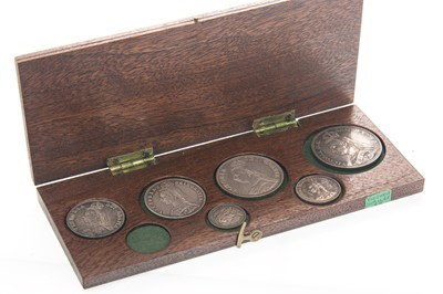 Lot 157 - A GROUP OF QUEEN VICTORIA SILVER COINS DATED 1887
