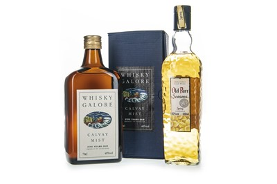 Lot 431 - OLD PARR SEASONS SPRING AND WHISKY GALORE CALVAY MIST