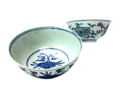 Lot 719-A LOT OF TWO CHINESE BOWLS