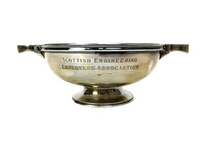 Lot 423-A CONTEMPORARY SILVER QUAICH