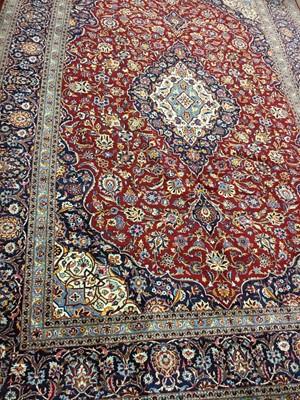 Lot 1309-A PERSIAN KASHAN RUG