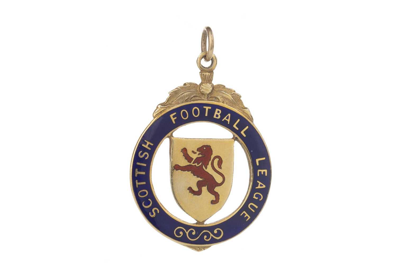 Lot 1735 - JIM BROGAN OF CELTIC F.C. - HIS LEAGUE CUP RUNNERS-UP MEDAL 1973/74
